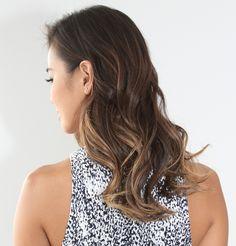 Gorgeous sombré haircolor by Joico Celebrity Colorist, Denis De Souza, on fashionista/actress Jamie Chung. Haircolor pros- click to get the formula!