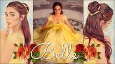 Emma Watson's Belle Makeup & Hair Tutorial Beauty & The Beast
