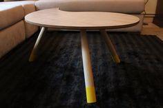 Mid century modern coffee table/ Mid Mod Sofa Table/ Oak Natural Table/ Handmade/ Custom Made Handmade Coffee Table, Side Table, Modern Coffee Tables, Table, Sofa Table, Flat Interior, Interior, Mid Century Modern Coffee Table, Coffee Table