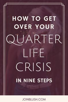 Quarter life crisis and dating