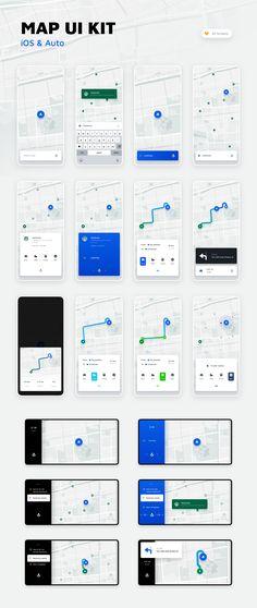 Interactive screen ui kit Ideas for 2019 Web Design Mobile, Ios App Design, Dashboard Design, Interface Design, User Interface, App Design Inspiration, Ui Kit, Design Thinking, Application Ui Design