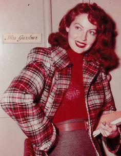 gatabella: Ava Gardner on the set of The Killers