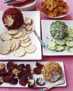 Christmas Appetizer: Cheese Balls Three Ways