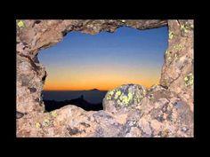 Atardecer y puesta de sol desde La Ventana del Nublo en Gran Canaria