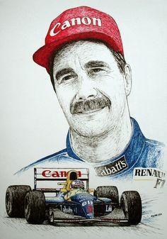 Nigel Mansell Tribute by machoart on DeviantArt