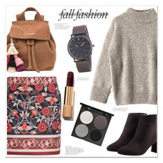 """fall fashion"" by mycherryblossom ❤ liked on Polyvore featuring Avon, The Wolf Gang and Gorgeous Cosmetics"