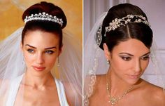 Kleidung Design, Trends, Veil, Wedding Hairstyles, Drop Earrings, Hair Styles, Fashion, Tight Braids, Greece Style