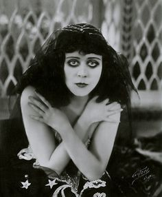 "Theda Bara, whose name was taken from the  words, ""death arab"" the original goth girl."