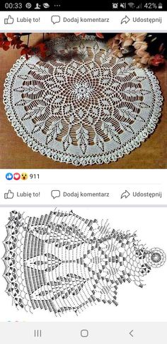 Crochet Doily Diagram, Crochet Doily Patterns, Filet Crochet, Crochet Motif, Crochet Doilies, Crochet Lace, Crochet Stitches, Crochet Potholders, Crochet Tablecloth