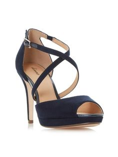 36d2270fb02 Buy Hobbs Invitation Alexandra Satin Slingback Peep Toe Sandals ...