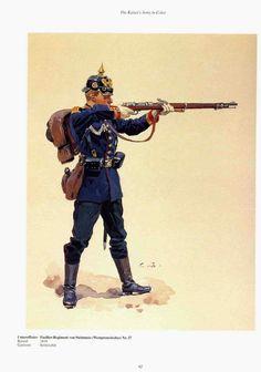 """German; 37th (West Prussian) Fusiliers """"von Steinmetz"""", Unterofficier, c.1900. raised 1818 Home Depot; Krotoschin"""