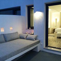 Open air daybed! #AstarteSuites #Santorini