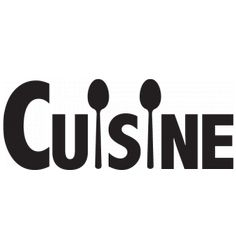 Sticker Cuisine en cuillères