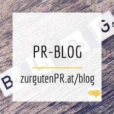 Blogbeiträge von www.zurgutenpr.at/blog, dem PR-Blog für Überblicker und Einsteiger. Hier blogge ich zu Text, Schreiben, Medienarbeit, Onlinekommunikation und was mir sonst so einfällt.  #blog #PRberaterin #kommunikationsberatung #text #medienarbeit #gründen #selbstständig #epu #kmu #zurgutenPR Blog, Psychics, Literature, Writing, Tips, Blogging