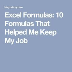 Excel Formulas: 10 Formulas That Helped Me Keep My Job Elektroniken Excel Formulas Helped Job Computer Help, Computer Technology, Computer Programming, Computer Tips, Energy Technology, Microsoft Excel, Microsoft Office, Excel Hacks, Just In Case