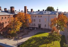 Rear courtyard of Hotel Katajanokka