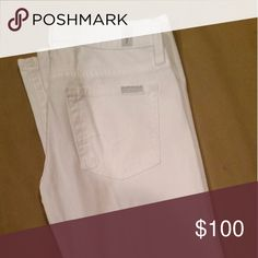 White Denim Jeans Brand new white Denim Jeans 7 For All Mankind Jeans Boot Cut