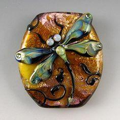 Kerri Fuhr - Glass Dragonfly Bead.