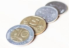 Finnish markka, the currency of Finland until the markka was replaced by the euro in 2002.