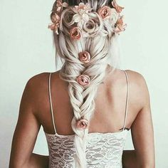 ☮ American Hippie Bohéme Boho Hairstyle ☮