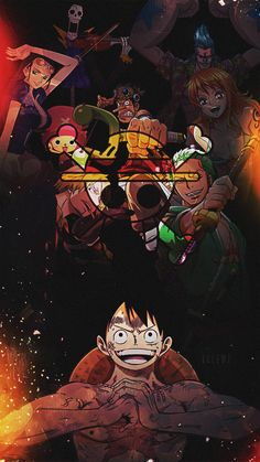 mugiwara wallpaper by One Piece Anime, Zoro One Piece, One Piece Comic, One Piece Fanart, One Piece Wallpaper Iphone, Anime Wallpaper Live, Cartoon Wallpaper, One Piece Pictures, One Piece Images