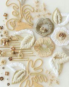 Embroidery, applique