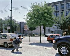 Jeff Wall- Man with a Rifle Jeff Wall Photography, Fine Art Photography, Jasper Johns, Ansel Adams, Contemporary Landscape, Land Art, Landscape Photographers, Photo Wall, Street View