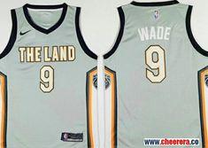 Men s Cleveland Cavaliers Dwyane Wade Gray The City The Land Nike Swingman  Stitched NBA Jersey f7350cbb1