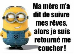 Funny Proverbs: Thank you Mom! Minion Humour, Minion Jokes, Minions Quotes, Funny Picture Quotes, Funny Pictures, Funny Sayings, Funny Proverbs, Minions Images, Learn To Speak French