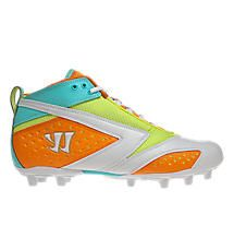 Burn 2nd Degree Special Edition Cleat, Neon Orange with Neon Yellow & Neon Blue