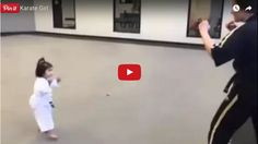Cute karate girl will one day become a master. Karate Girl, Trending Videos, One Day, How To Become, Youtube, Website, Funny, Ha Ha, Youtubers