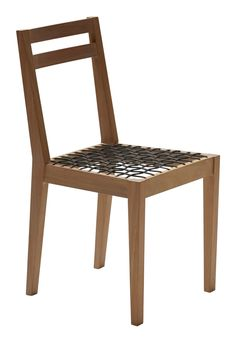 Riempie Chair Contemporary, Wood, Dining Chair by Nested Ny African Furniture, Fine Furniture, Furniture Design, Furniture Ideas, Contemporary Dining Chairs, Contemporary Furniture, African Design, Solid Oak, Chair Design