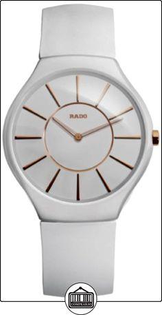 Rado  - Reloj Analógico de Cuarzo para Hombre, correa de Goma color Multicolor  ✿ Relojes para hombre - (Lujo) ✿