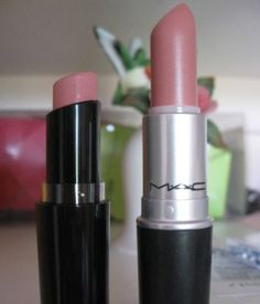 DUPE Lipstick ~ MAC Angel = Wet n Wild Think Pink