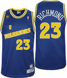 Mitch Richmond Golden State Warriors Throwback Swingman Blue Jersey 3afefbac5