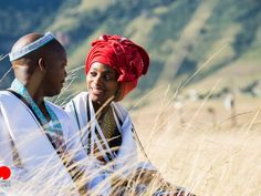 Entirely Xhosa Wedding With Magnificent Views South African Wedding Dress, African Traditional Wedding Dress, South African Weddings, Traditional Weddings, Traditional Dresses, African Wear Dresses, African Attire, African Beauty, African Women