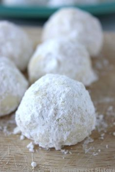Snowball Cookie Recipe Without Nuts.Snowball Cookies Recipe No Nuts. Kudos Kitchen By Renee: Pecan Snowball Cookies. Chocolate Dipped Snowball Cookies Crazy For Crust. Italian Wedding Cookies, Mexican Wedding Cookies, Italian Cookies, Snowball Cookies, Xmas Cookies, Snow Cookies, Rolo Cookies, Crackle Cookies, Snowball Fight