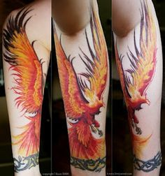 chinese phoenix arm tattoo - Google Search