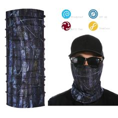 Head/Face/Mask/Neck Multi-wear Tube Bandana/Durag.Scarf/Wrap Free Shipping