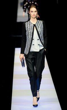 Giorgio Armani - MFW - Otoño/Invierno 2015-2016 - www.so-sophisticated.com