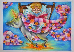 Creativity of Fià: Unicorno sognante