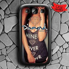 Diamond Girl Supply Co Samsung Galaxy S3 Black Case
