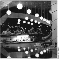 Interior of 'Bar-Kosmos', Cottbus August 1972