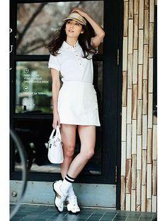 春夏女子♡BBQに海にデートに!かわいいポロシャツコーデ♪夏ファッションに取り入れたいポロシャツコーデ♡レディースコーデの参考に♪
