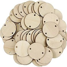 Bememo 100 Pieces Circle Wooden Tags Birthday Board Tags with 2 Holes for Birthday Board Chore Board DIY Crafts 15 Inches -- You can find out more details at the link of the image. (This is an affiliate link) Birthday Calendar Reminder, Birthday Reminder, Scrabble Tile Crafts, Wood Crafts, Diy Crafts, Family Birthday Board, Diy Birthday, Birthday Wall, Diy Name Tags