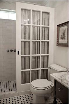 До и после: маленькая ванная во французском стиле