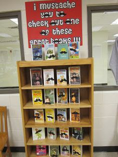 Sharing the Shelves: Pinterest Inspired Library Display
