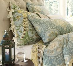 We received this quilt as a wedding gift. I can't wait to use it ... : pottery barn neena quilt - Adamdwight.com
