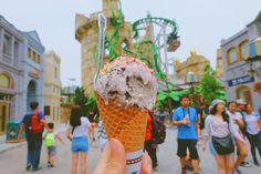 Jimme Ice cream at Universal studio Singapore