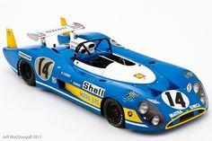 Matra-Simca MS670 #14 LeMans 1972 Sports Car Racing, Sport Cars, Auto Racing, Nascar, Alpine Renault, Automobile, Road Race Car, Le Mans 24, Classic Race Cars